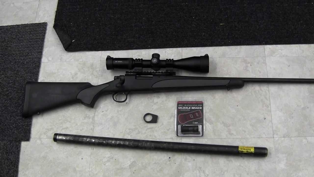 Remington 700 - .308 Build - part 1 - YouTube