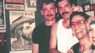 Freddie Mercury and Paul Prenter Rare Footage