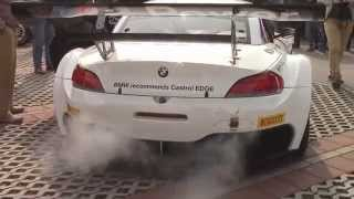 BMW Z4 GT3 Zanardi's car Start up Amazing Sound!