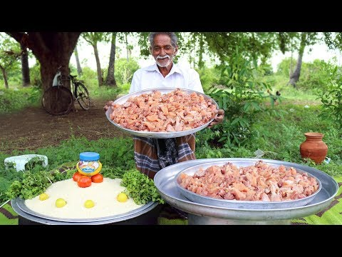 Chicken Pulao Recipe For 100 People | Easy Chicken Biryani Grandpa Style