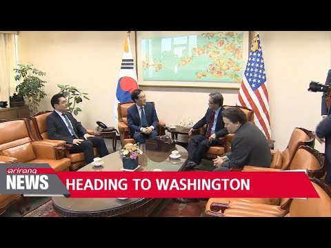 S. Korea foreign ministry's point man on N. Korean nuclear issues departs for Washington