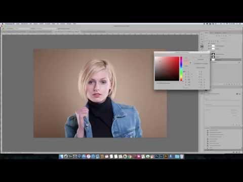 Grauen HG Einfärben mit Photoshop