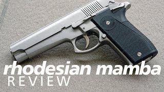 Review: Mamba 9mm pistol - A handgun from...Rhodesia?