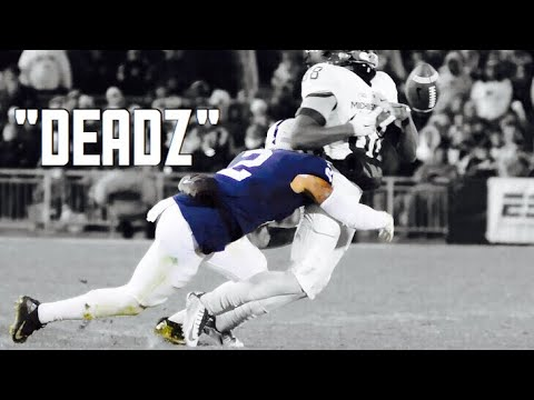 Hardest Hitter in the Nation || 2016-17 HD Marcus Allen highlights || Penn State Safety #2