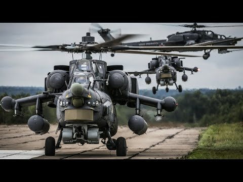 Top 10 Best Attack Helicopters In The World 2018✔️