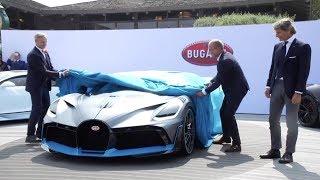 видео Bugatti
