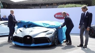 Bugatti Divo World Premiere at The Quail: A Motorsports Gathering 2018
