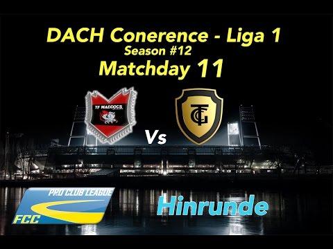 FCC DACH Conf 1 Season #12 Matchday 11 Vs Maddogs l 7:1 S