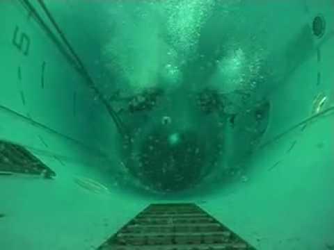 Diving the SETT (Submarine Escape training Tank)