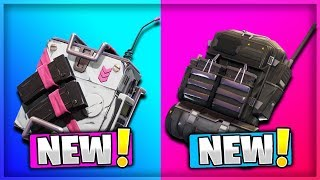 7 NEW BACKPACK ITEMS COMING TO FORTNITE! (Fortnite Battle Royale) | Intel Pack, Medic Pack, & MORE!