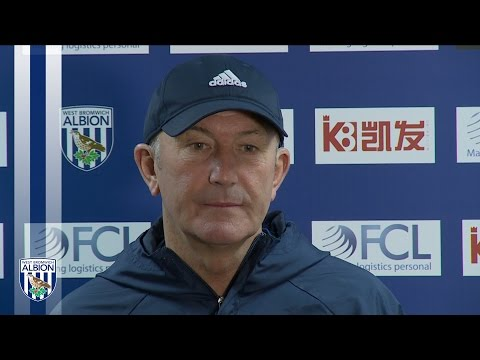 Tony Pulis addresses the media ahead of Premier League clash with Bournemouth