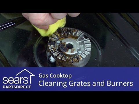 How to Clean Gas Cooktop Grates and Burners