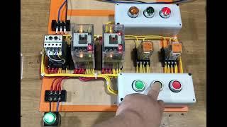 승강기기능사 실기연습 - 3-0 전동기정역제어