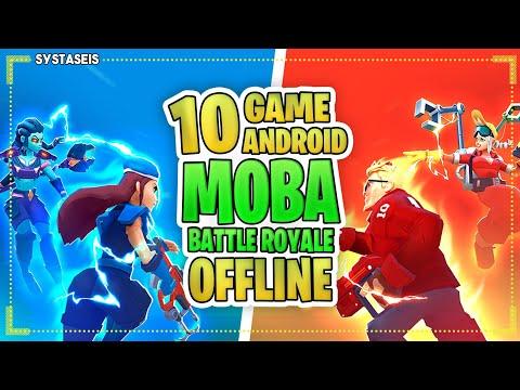 10 Game Android Offline Moba \u0026 Battle Royale Terbaik