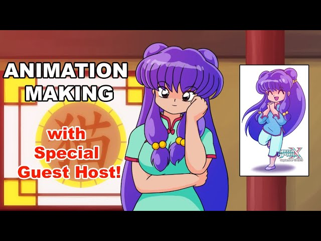 Shampoo Animation Making (with Shampoo as special guest host -_^)