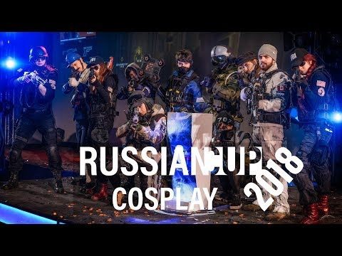 Rainbow Six Siege Russia Finals 2018 Cosplay
