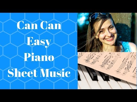 The Can Can Piano Free Sheet Music