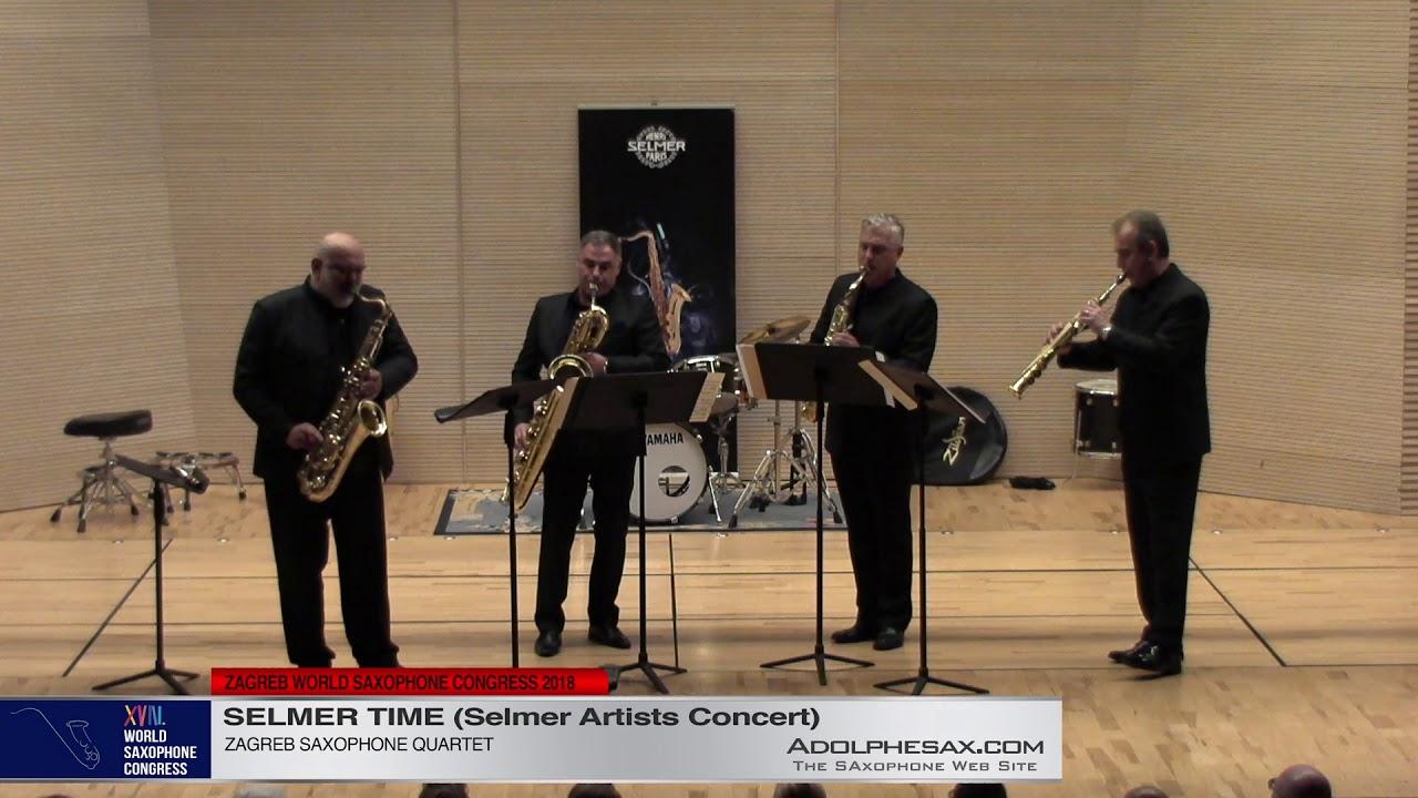 Zagreb Saxophone Quartet   XVIII World Sax Congress 2018 #adolphesax