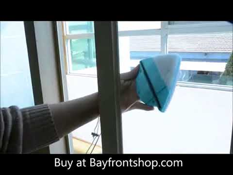 Magnetic Window Cleaning Brush Glass Cleaner Tool Double Side Cleaning Wiper