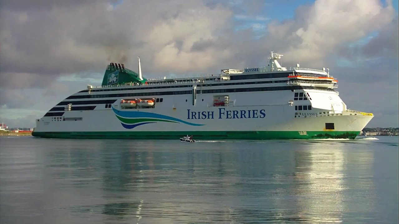 The world's largest car ferry - YouTube
