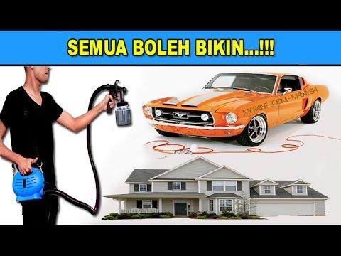 Cara mudah cat rumah /spray kereta kos murah - MY Paint Zoom Malaysia