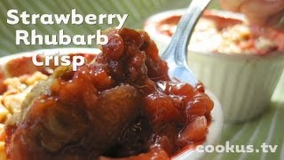 How To Make Strawberry Rhubarb Crisp