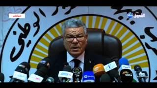 ندوة صحفية للأمين العام لجبهة التحرير الوطني عمار سعداني حول مسودة الدستور