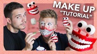 DIY EPIC Teeth Chattering Make Up Tutorial (ft. Korey Kuhl)