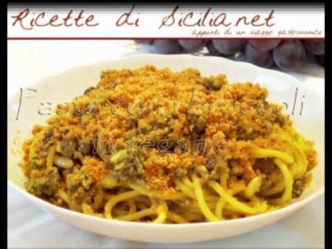 Ricette di Sicilia  Cucina Siciliana  YouTube