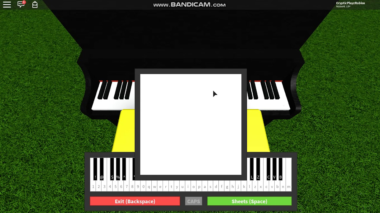Roblox Piano See You Again Youtube