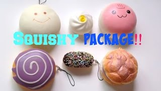 Squishy Package!! | HelloJewel