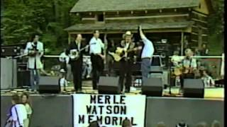 Earl Scruggs, Doc Watson, Marty Stuart and Jack Lawrence - John Hardy