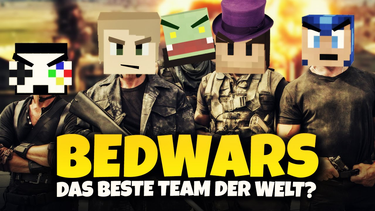 das beste team der welt minecraft bedwars herr bergmann youtube. Black Bedroom Furniture Sets. Home Design Ideas