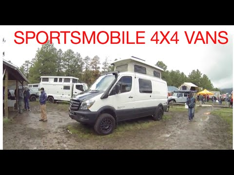 4x4 Vans By Sportsmobile At The Overland Expo