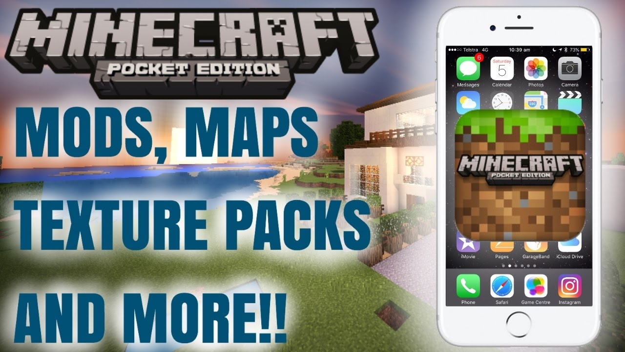 how to install mods for minecraft pe