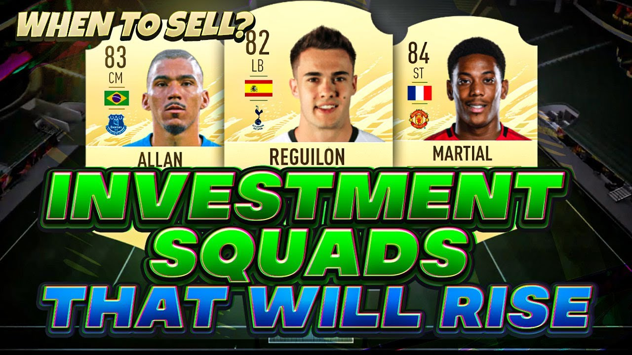 Investment Squads That Will Rise From Day 1 Fifa 21 Web App Investing Youtube