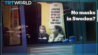 Some Swedish towns ban face masks amid pandemic