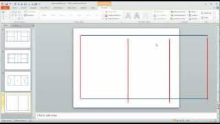 Step 1 in Using PowerPoint to draw a