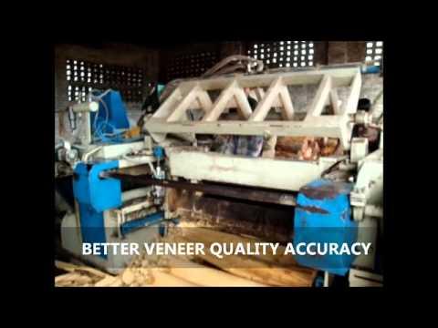 Rotary Veneer Log Peeling Lathe Machine (JAMUNA ENGINEERING COMPANY)