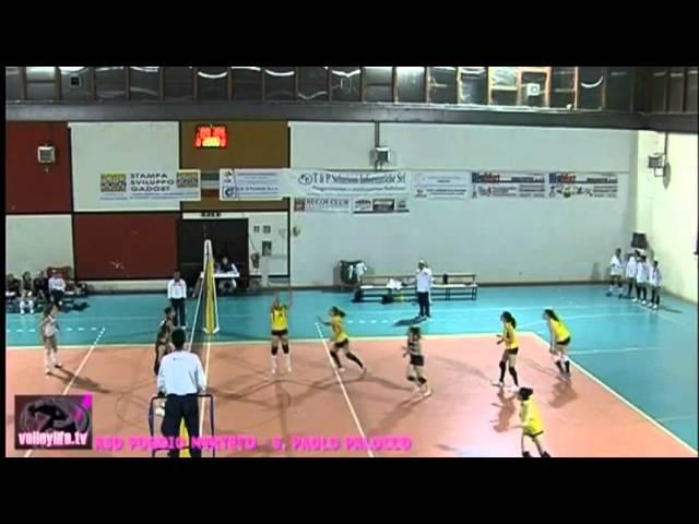 ASD Poggio Mirteto vs S. Paolo Palocco - 3° Set