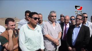 وزير الأثار يتفقد منطقة «تل الربع» بالدقهلية لاستثمارها سياحيا