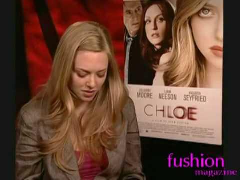 Amanda Seyfried interview Chloe movie