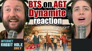 BTS Performs Dynamite on AGT - America's Got Talent 2020 REACTION | IRH daily