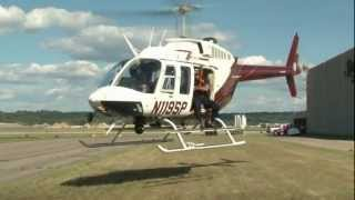 SPFD and MN State Patrol Helicopter Rescue Training