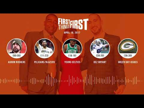 First Things First audio podcast(4.18.18) Cris Carter, Nick Wright, Jenna Wolfe | FIRST THINGS FIRST