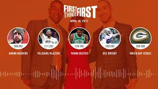connectYoutube - First Things First audio podcast(4.18.18) Cris Carter, Nick Wright, Jenna Wolfe | FIRST THINGS FIRST