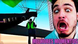 MOMENTOS MAIS ENGRAÇADOS DE GTA SAN ANDREAS