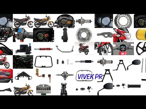 Hero Passion Pro Spare Parts Price List Youtube