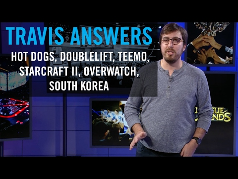 Travis Answers Ep 1: Doublelift, Overwatch, StarCraft 2, Teemo, and more