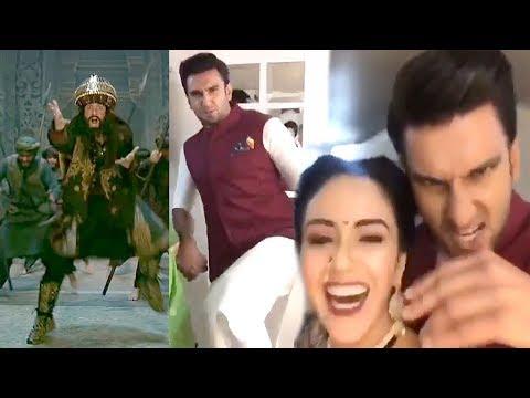 Padmavati: Ranveer Singh's AMAZING Khalibali Dance Video Will Make Ur Day
